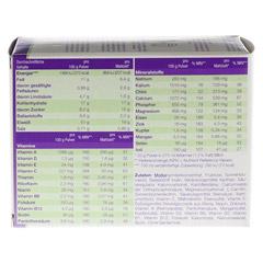 XLIM Aktiv Mahlzeit sojafrei Pulver 10x20 Gramm - Rückseite