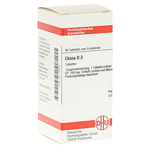 CHINA D 2 Tabletten 80 Stück N1