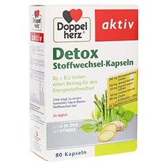 DOPPELHERZ Detox Stoffwechsel-Kapseln 80 Stück