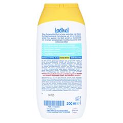 LADIVAL trockene Haut Milch LSF 30 200 Milliliter - R�ckseite