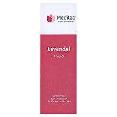 MEDITAO Lavendel�l 50 Milliliter - Vorderseite