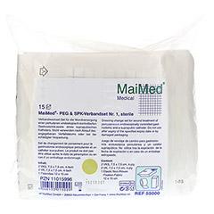 MAIMED PEG+SPK Verbandset Nr.1 steril 15 St�ck