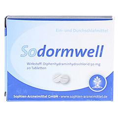 Sodormwell Diphenhydraminhydrochlorid 50mg 20 Stück N2 - Vorderseite