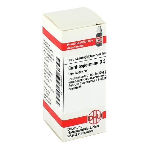 CARDIOSPERMUM D 3 Globuli 10 Gramm N1