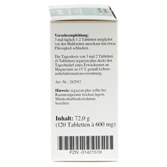 REGAZYM Plus Syxyl Tabletten 120 St�ck - Linke Seite
