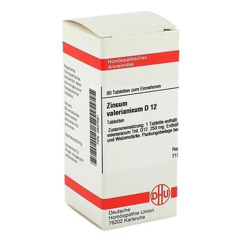 ZINCUM VALERIANICUM D 12 Tabletten 80 St�ck N1