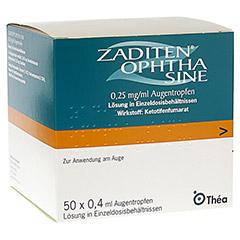 ZADITEN ophtha sine 0,25mg/ml Augentropfen 50 Stück N3