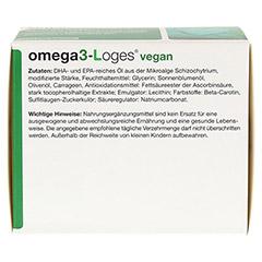 OMEGA 3-Loges vegan Kapseln 120 St�ck - Unterseite