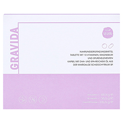 GRAVIDA 60 Tabletten+60 Kapseln 1 Packung - Vorderseite