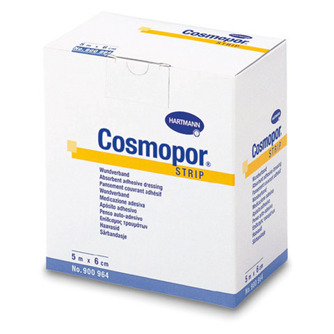 COSMOPOR Strips 6 cmx5 m 1 Stück