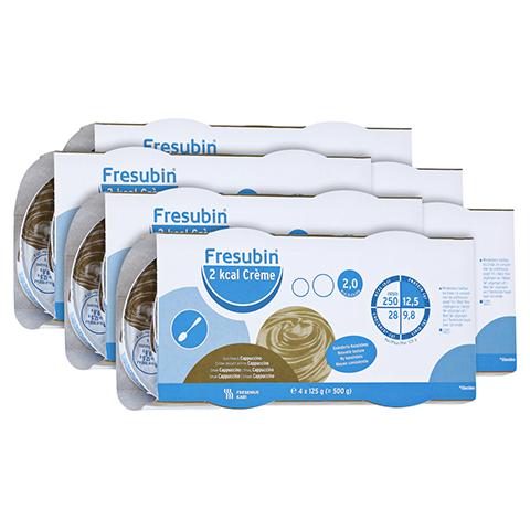 FRESUBIN 2 kcal Creme Cappuccino im Becher 24x125 Gramm