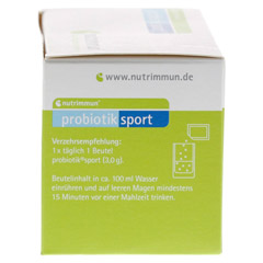 PROBIOTIK Sport Pulver 30x3 Gramm - Rechte Seite