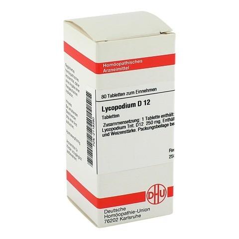 LYCOPODIUM D 12 Tabletten 80 St�ck N1