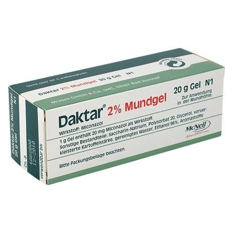 Daktar 2% Mundgel 20 Gramm N1