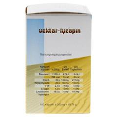 VEKTOR Lycopin Kapseln 180 Stück - Linke Seite