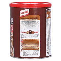 SLIM FAST Pulver Schokolade 450 Gramm - Linke Seite