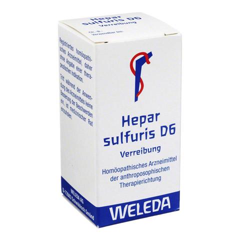 HEPAR SULFURIS D 6 Trituration 20 Gramm N1