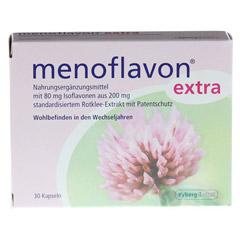 MENOFLAVON Extra Kapseln 30 Stück - Vorderseite