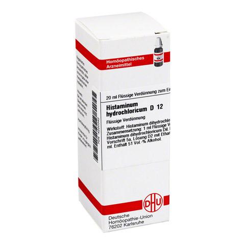 HISTAMINUM hydrochloricum D 12 Dilution 20 Milliliter N1