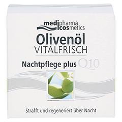 OLIVENÖL vitalfrisch Nachtpflege Creme 50 Milliliter - Vorderseite