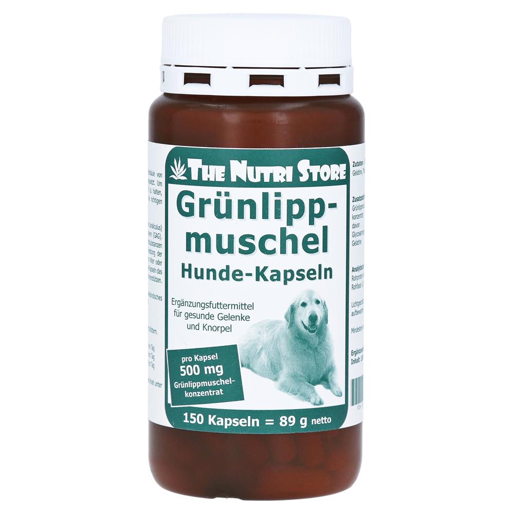 Grünlippmuschel 500 mg Hunde-Kapseln, 150 Stück