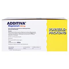 ADDITIVA Magnesium 300 mg N Pulver 60 Stück - Rechte Seite