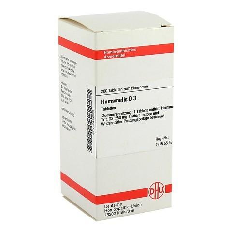 HAMAMELIS D 3 Tabletten 200 St�ck N2