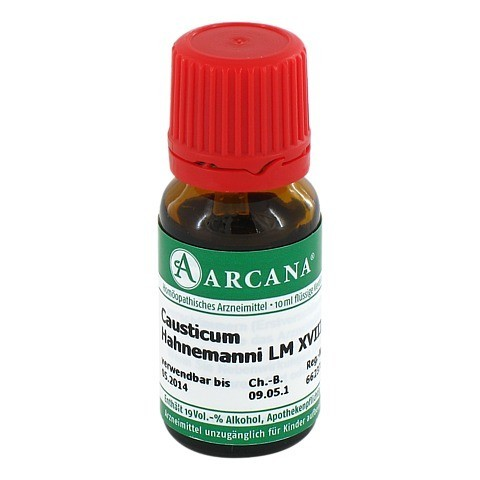 CAUSTICUM Arcana LM 18 Dilution 10 Milliliter N1
