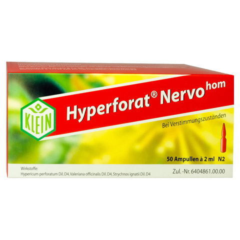 HYPERFORAT Nervohom Injektionslösung 50x2 Milliliter N2