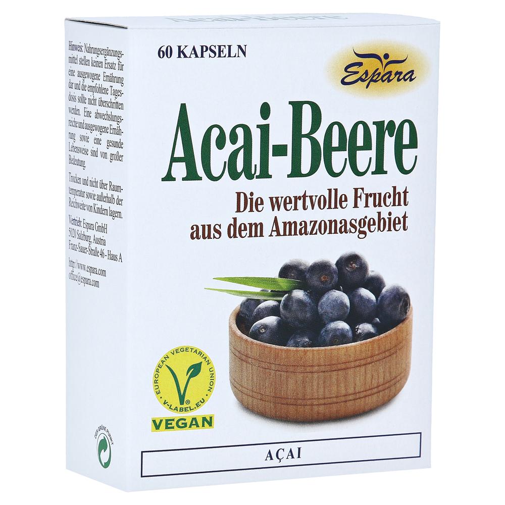 acai beere kapseln 60 st ck online bestellen medpex. Black Bedroom Furniture Sets. Home Design Ideas