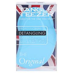 TANGLE Teezer Original Haarbürste blau/pink 1 Stück - Vorderseite