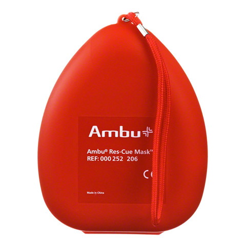 AMBU Res Cue Maske m.Bakterienfilter/Einwegfilt. 1 Stück