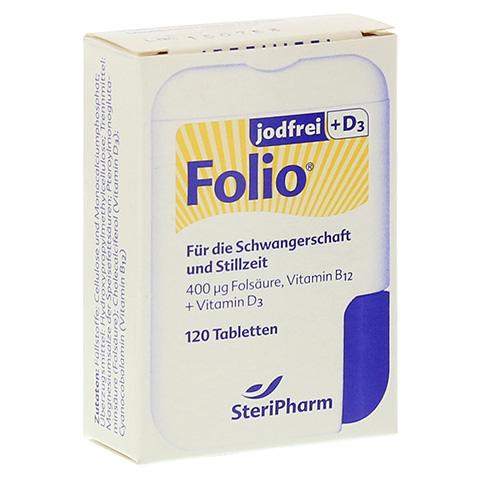 FOLIO jodfrei+D3 Filmtabletten 120 Stück