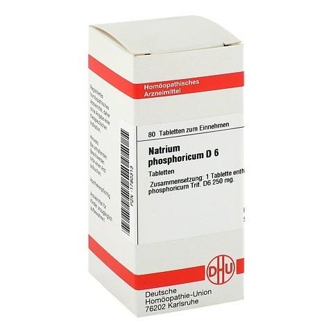 NATRIUM PHOSPHORICUM D 6 Tabletten 80 Stück N1