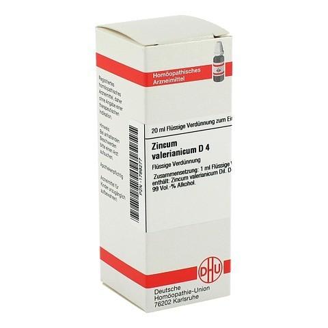 ZINCUM VALERIANICUM D 4 Dilution 20 Milliliter N1