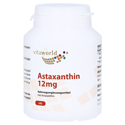 ASTAXANTHIN 12 mg Kapseln 60 St�ck