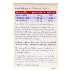 FOLPLUS laktosefrei Tabletten 60 Stück - Rückseite