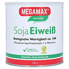 Megamax Soja Eiweiß Vanille Pulver 750 Gramm