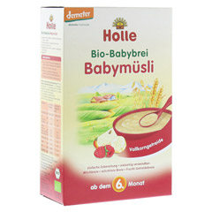 HOLLE Bio Babybrei Babymüsli 250 Gramm