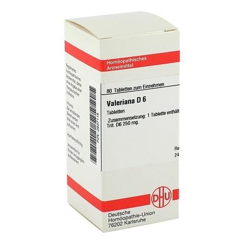 VALERIANA D 6 Tabletten 80 St�ck N1