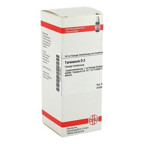 TARAXACUM D 2 Dilution 50 Milliliter N1