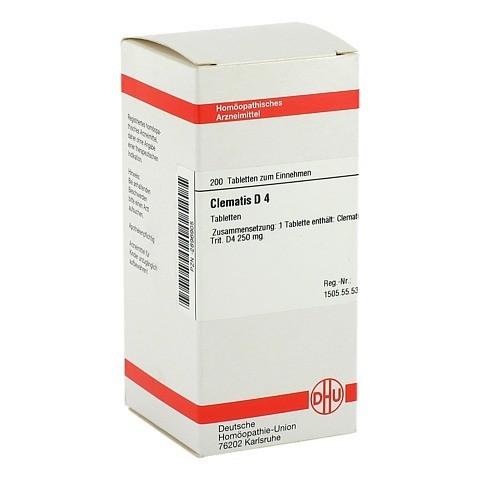 CLEMATIS D 4 Tabletten 200 Stück N2