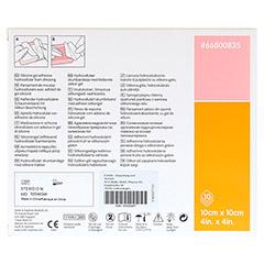 ALLEVYN Gentle Border Lite 10x10 cm Schaumverb. 10 St�ck - R�ckseite