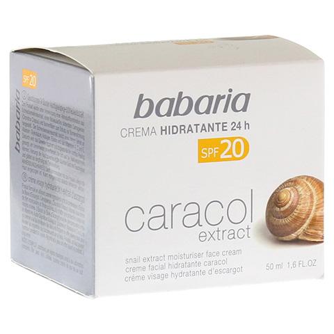 BABARIA Schneckenextrakt Feuchtigkeitscreme LSF 20 50 Milliliter