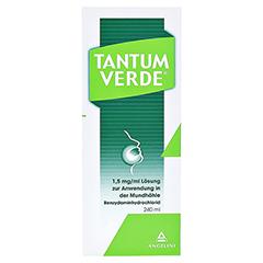 TANTUM VERDE 1,5 mg/ml L�sung z.Anw.i.d.Mundh�hle 240 Milliliter N1 - Vorderseite