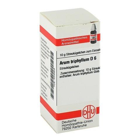ARUM TRIPHYLLUM D 6 Globuli 10 Gramm N1