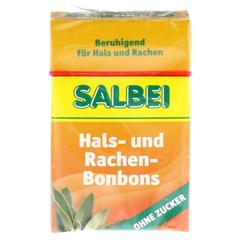SALBEI HALS und Hustenbonbons o.Zucker 40 Gramm - Vorderseite