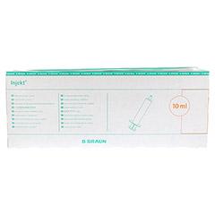 INJEKT Solo Spritze 10 ml Luer exzentrisch PVC-fr. 100x10 Milliliter - Vorderseite