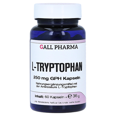 L-TRYPTOPHAN 250 mg Kapseln 60 St�ck