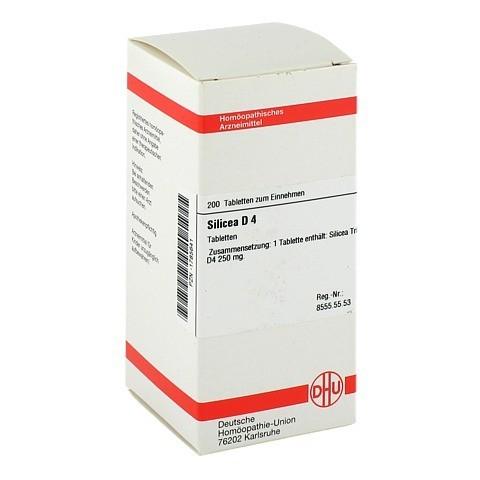 SILICEA D 4 Tabletten 200 Stück N2